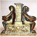 Seated Egyptian Princess Candle Holder