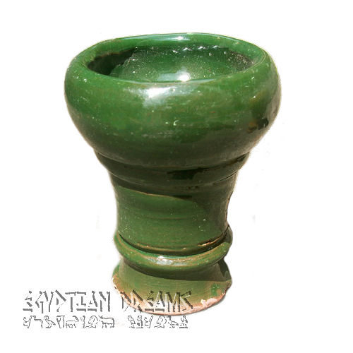 Rounded Clay Bowl (Green)