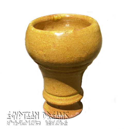 Rounded Clay Bowl (Yellow)