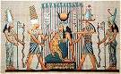 Hand Painted Papyrus of Hathor's Blessing